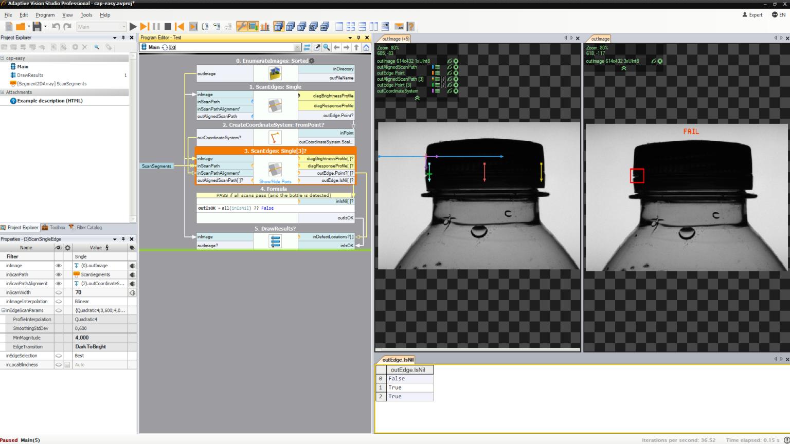 Machine Vision Software And Libraries Adaptive Vision
