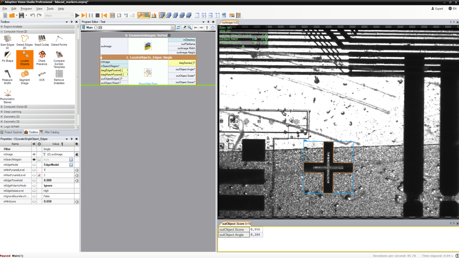 machine vision software and libraries